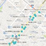琴似焼き鳥激戦区MAP