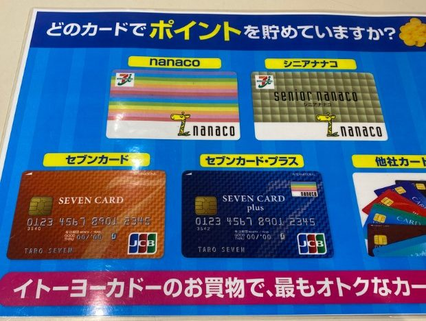 電子マネーnanacoで5万円のお買い物